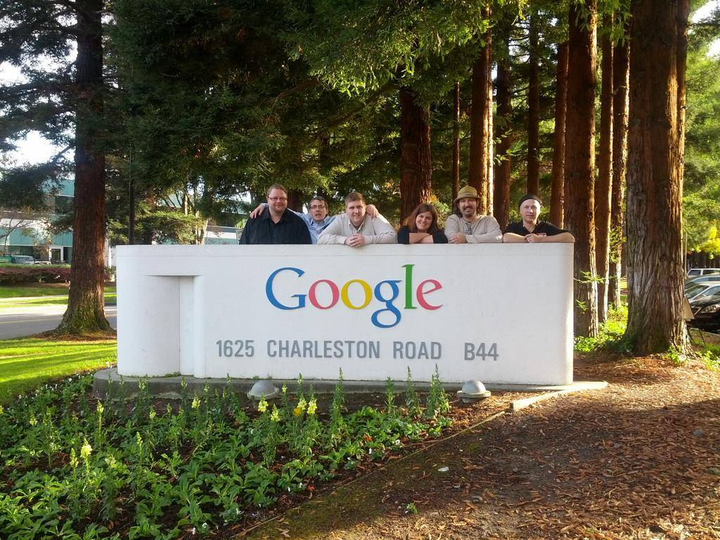 Some of us made it to Google for a visit after the Joomla! World Conference. Left to right: Ronni Christiansen, Brian Teeman, Jon Neubauer, Nicole Ouellette, TJ Baker, and Chris Nielsen.