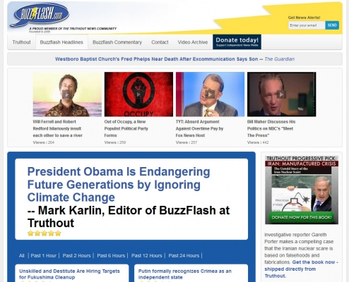 Buzzflash Page
